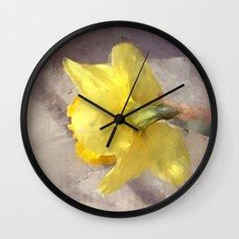 En Verso Wall Clock