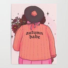 Autumn Babe Poster