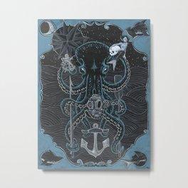 Never Mind The Mollusk Metal Print