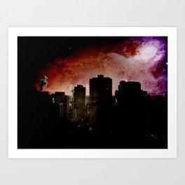 59th street 30 up Art Print