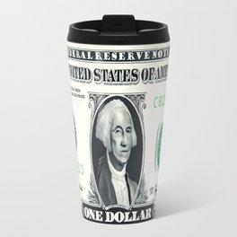 1 Dollar Note Travel Mug