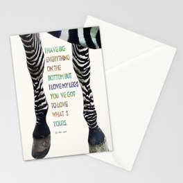 Zebra 1 Stationery Cards
