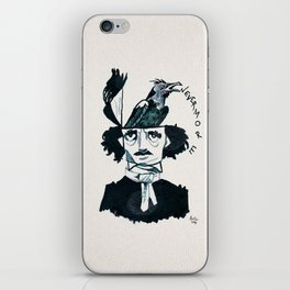 Edgar Poe - Nevermore iPhone Skin