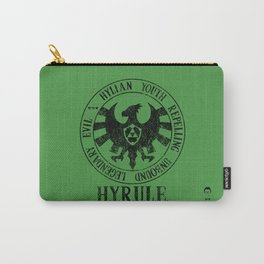 Agents of H.Y.R.U.L.E. | Black print variant Carry-All Pouch
