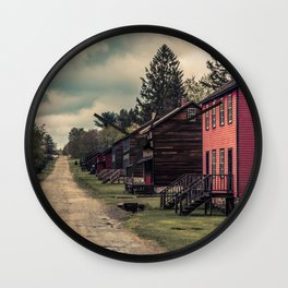 Eckley Miners Village Pennsylvania Historic Site Molly Maguires  Wall Clock