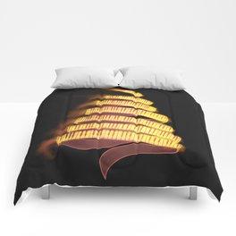 La Campanella by Franz List, illustration Comforters