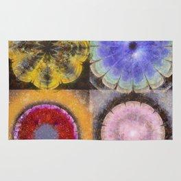 Ergastic Entity Flower  ID:16165-005314-25310 Rug