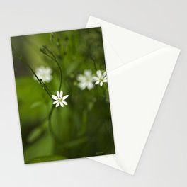 Chickweed Wildflowers Stationery Cards