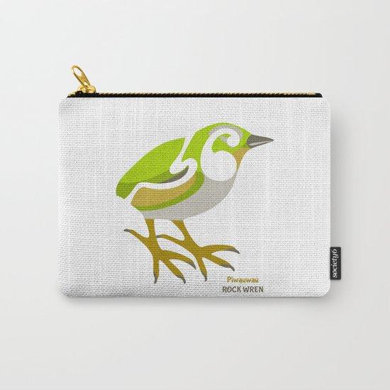 Rock Wren New Zealand Bird Carry-All Pouch