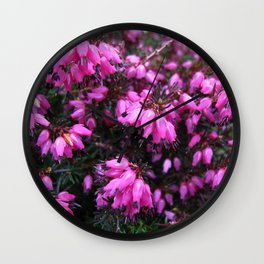 heather Wall Clock