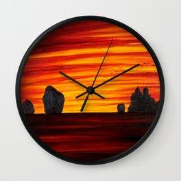 Koh Samui Sunrise Wall Clock