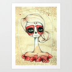 poppy Art Print