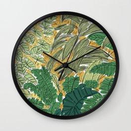 Jungle Wall Clock