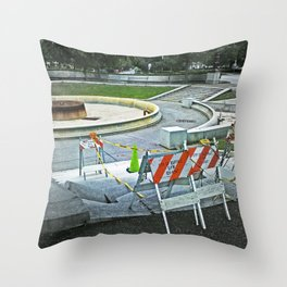 Nickel City Progress Throw Pillow
