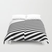 bands Duvet Covers featuring Blacknote Bands by blacknote