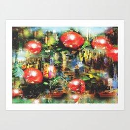 New Apple York Art Print
