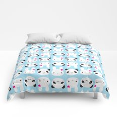 Super Cute Kawaii Bunny and Panda Comforters