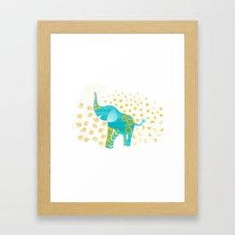 Lucky Elephant – Magic Villa Framed Art Print