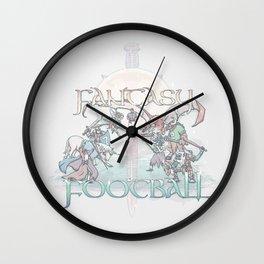 Fantasy Football Wall Clock