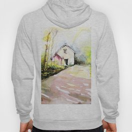 Beautiful Cottage Garden Painting Hoody