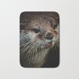 Otters Sweet Face Bath Mat