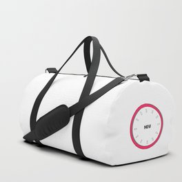 we have no real time except now, yoga silent clock Duffle Bag