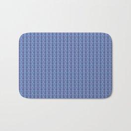 Ikat Purple Bath Mat
