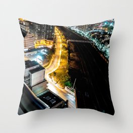 Queen West - East Throw Pillow