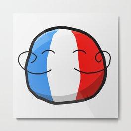 France Metal Print