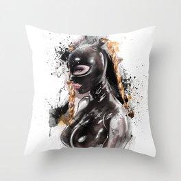 Fetish painting #2 Throw Pillow
