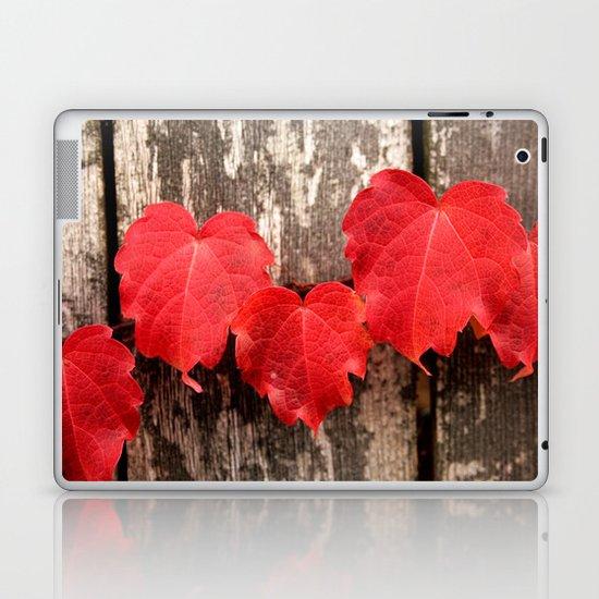 Red Ivy Laptop & iPad Skin
