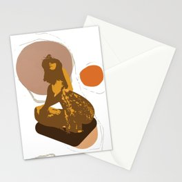 Always respect yourself as a woman Stationery Cards