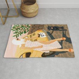 Tour #illustration Rug