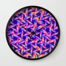 Friday Night at the Bowling Alley Wall Clock