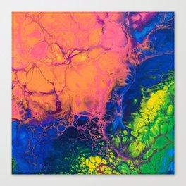 rainbow skyfall Canvas Print