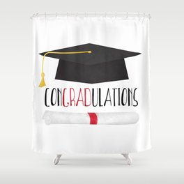 ConGRADulations Shower Curtain