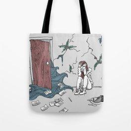 Grey Room Tote Bag