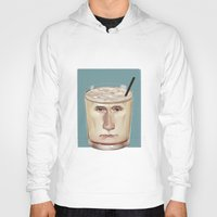 russian Hoodies featuring White Russian by Powersimon