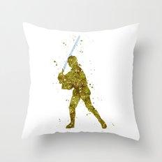Luke Skywalker Star . Wars Throw Pillow