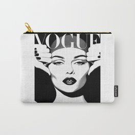 VOGUE PRINT Fashion Poster Digital Download Printable Art Retro Poster Modern Wall  Art Vintage Carry-All Pouch