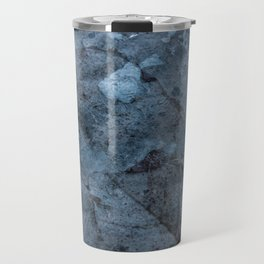 Transparent Blue Travel Mug