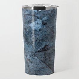 Transparent Blue Travel Mug