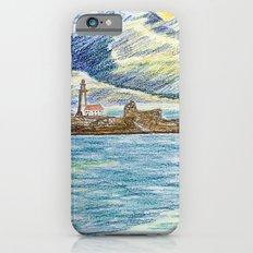 lighthouse island iPhone 6s Slim Case
