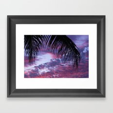 TROPICAL2. Framed Art Print