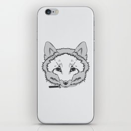Pirate Fox iPhone Skin
