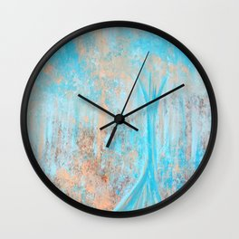 Here With You Wall Clock
