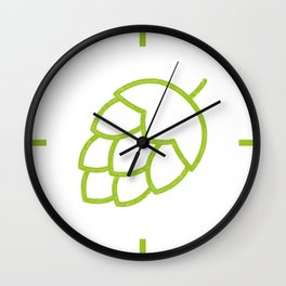Me So Hoppy Wall Clock