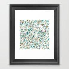 out glass Framed Art Print