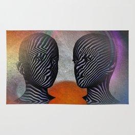 talking together -2- Rug