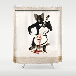 Nightmare of a Lovesick Vampire Shower Curtain